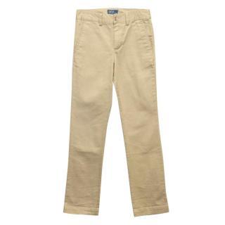 Polo Ralph Lauren Skinny Leg Beige Trousers
