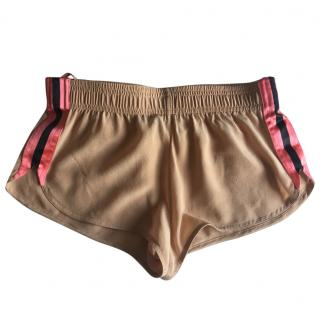 Gucci Tom Ford nude silk shorts
