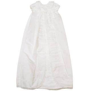 Heritage 'Arianna' White Christening Robe