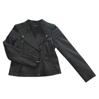 Gerard Darel biker leather jacket