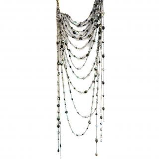Erickson Beamon one- of-a- kind beaded choker style necklace
