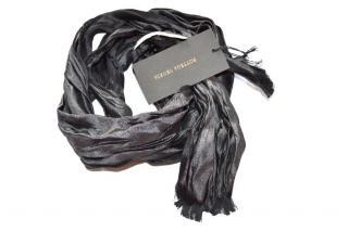 Bottega Veneta runway silk skinny scarf