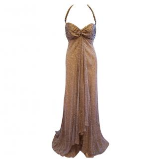 Amanda Wakeley Silk Evening Dress
