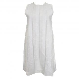 MSGM Textured Panel Shift Dress
