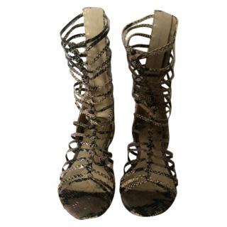 Paul & Joe Sister snake gladiator sandals