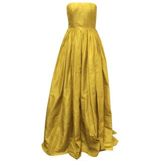 Oscar de la Renta Silk  Ballgown