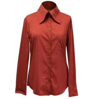 Vivienne Westwood Red Label Oversized Collar Button-Up Shirt