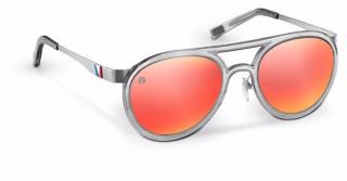 Louis Vuitton Marine Pilot Gun Red Sunglasses