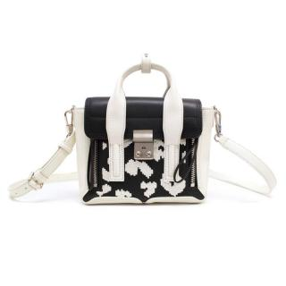 Phillip Lim Black And White 'Pashli' Satchel