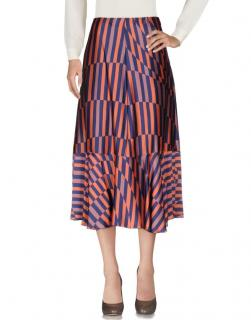 DRIES VAN NOTEN Patterned Skirt