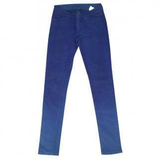 Rachel Roy Ombre Blue Trousers two tone