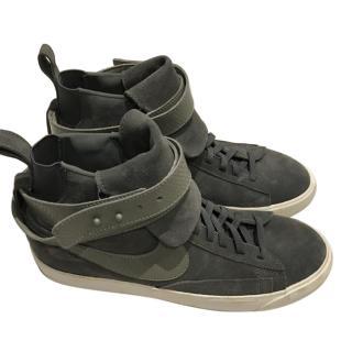 Nike Blazer Mid Twist Suede Sneaker Grey