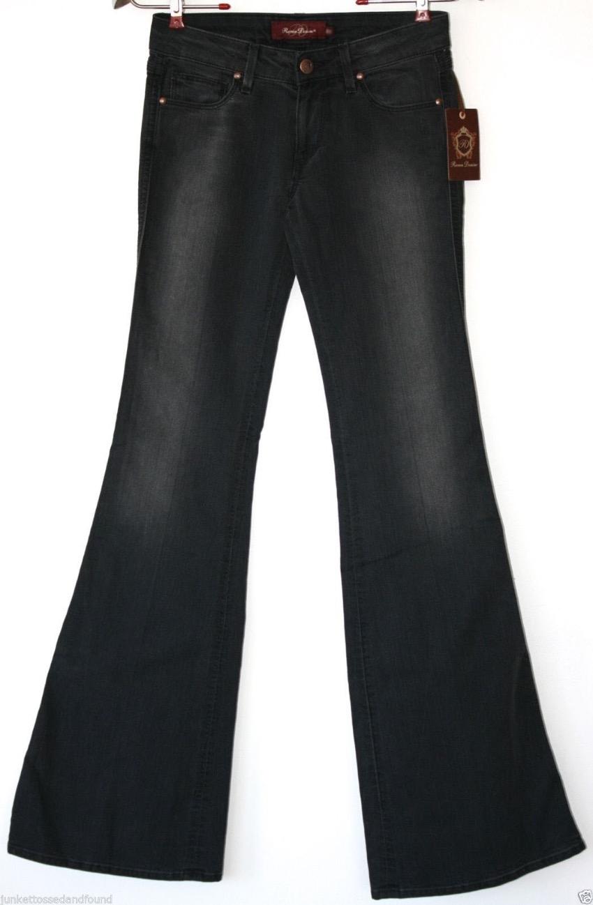 Raven Denim Bootcut Black Jeans