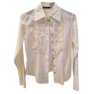 White lace Patrizia Pepe blouse