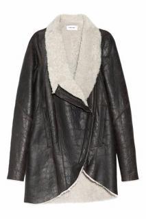 Helmut Lang Shearling Coat