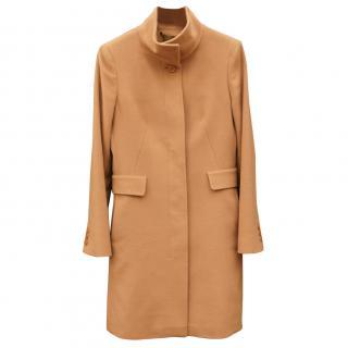 Max Mara Studio Pure wool camel coat