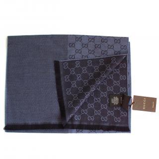 Gucci Reversible Woolen Scarf