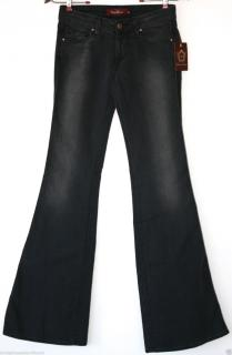 Raven Denim Bootcut Black Jeans