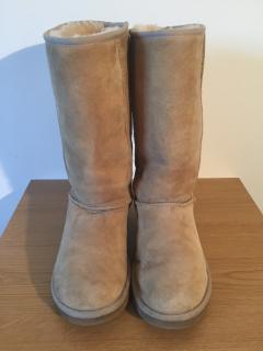 UGG classic tall 5815 sheepskin beige boots