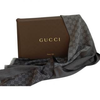 Gucci Reversible Monogram Scarf