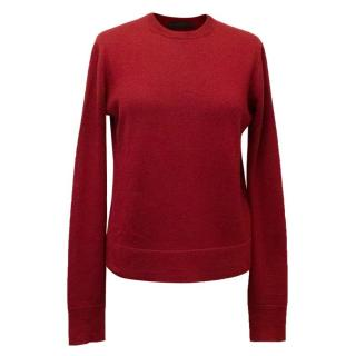 The Row Oxblood Knit Jumper