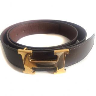 Hermes Men's Leather Belt