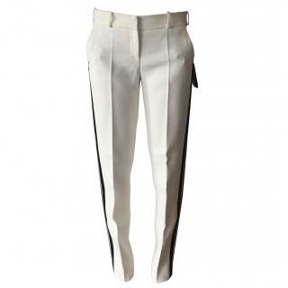 Giorgio Armani White Trousers