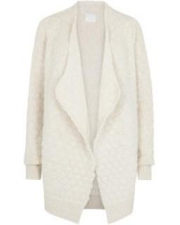 Zadig & Voltaire Alpaca Blend Quilted Knit Cardigan