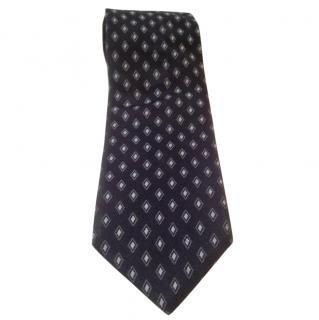 Pal Zileri Blue pattern tie