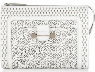 Jason Wu Daphne Laser-Cut Clutch Bag