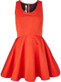 Alexander McQueen Satin Dress