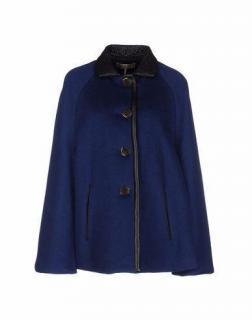 Emilio Pucci 100 % Wool & Leather Cloak