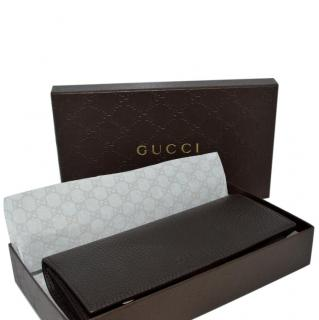 Gucci brown leather purse/wallet