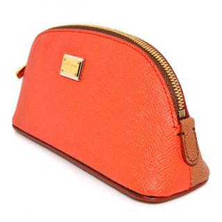 Dolce & Gabbana two colour purse beauty bag