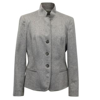 MaxMara Grey Cashmere Jacket