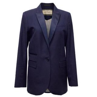 Marlene Birger Blue Wool Jacket