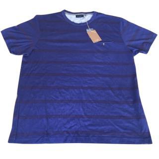 Men's Paul smith jeans regular fit T shirt navy size large