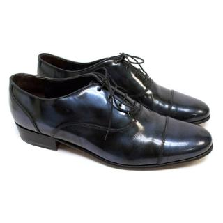 Lanvin Dark Blue Brogues