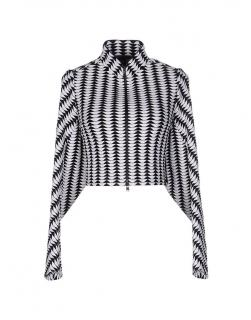 Alaia Paris black and white casual jacket