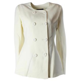 Giorgio Armani white formal jacket