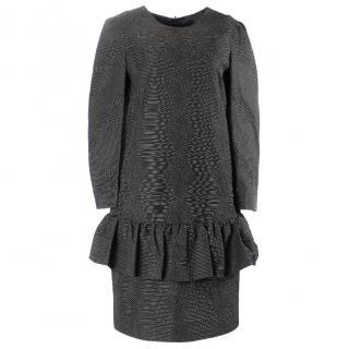 Dries van noten black and white dress