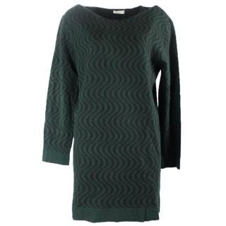 Dries van noten green sweater