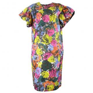 Dries van noten multi color dress