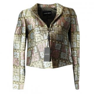 Giorgio armani multi coloured jacket