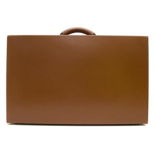 Bentley Tan Weekender Case by Swaine, Adeney, and Brigg