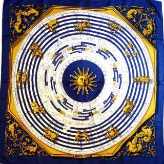 Hermes Astrologie Silk Scarf