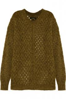 Isabel Marant Tiana open-knit sweater