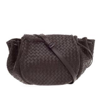 Bottega Veneta Flap Messenger Bag Intrecciato Nappa Medium