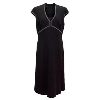 Escada Black Midi Dress
