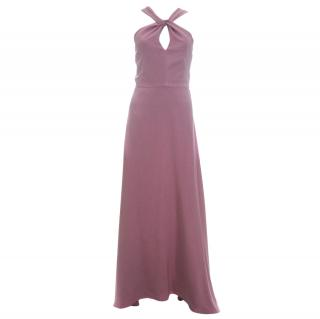 Freda Silk Evening Gown